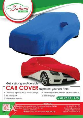 Car cover, double sided, water proof, strong and durable Nairobi West - image 2