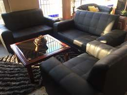 New Black 3pce lounge suite