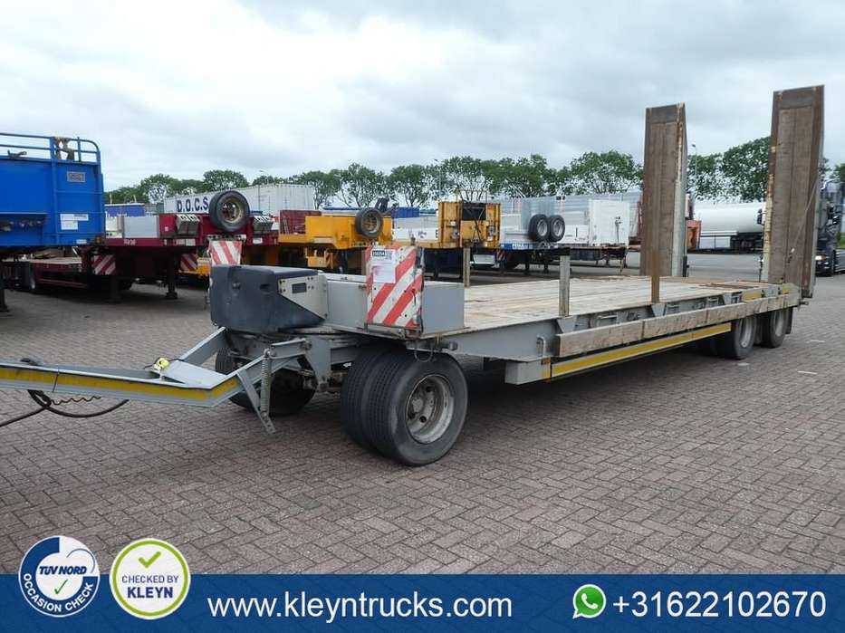GHEYSEN VERPOORT  3 AXLES FULL STEEL 24t load ramps - 2007