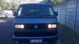 Vw Caravelle in a good driving condition and a nice body