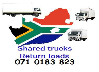 Shared trucks & return loads for long distance Randburg - image 1