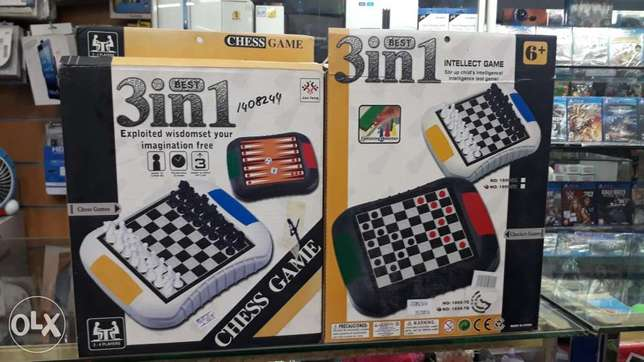 Chess game 3in1 for sale