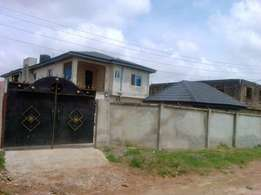 Solid lovely block of 7flats at blueview garden estate Oke Aro