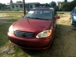 Extremely Clean Nigeria Used Toyota Corolla