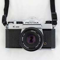 Pentax K1000 || 2 lens kit (50mm & 70-210mm) || Great condition