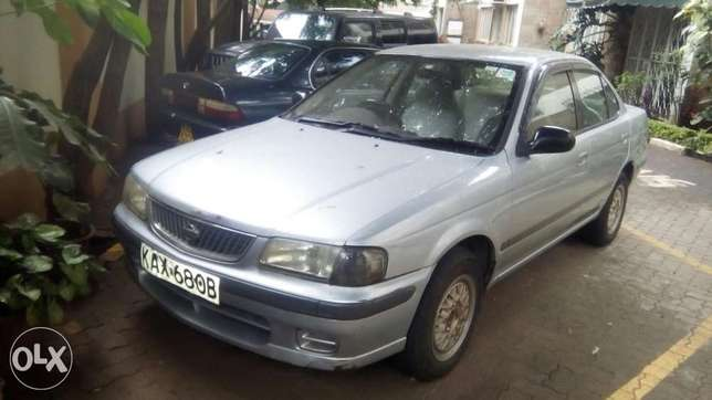 Selling Above Nissan Sunny B15, KAX 680B,Silver in Colour,Very Clean Langata - image 7
