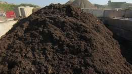 Compost,lawn dressing and topsoil