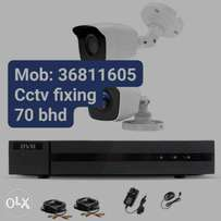 Good offer CCTV camera with fixing full hd camera connect samrtphone