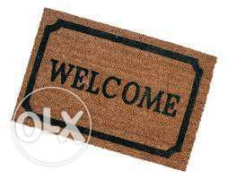 Coconut rug welcome mat