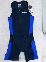 4ad5b0970f9739 DARE2TRI SUIT męski strój startowy triathlon niebisko/czarny NOWY S