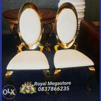 Exquisite Italian Royal King and Queen Chairs