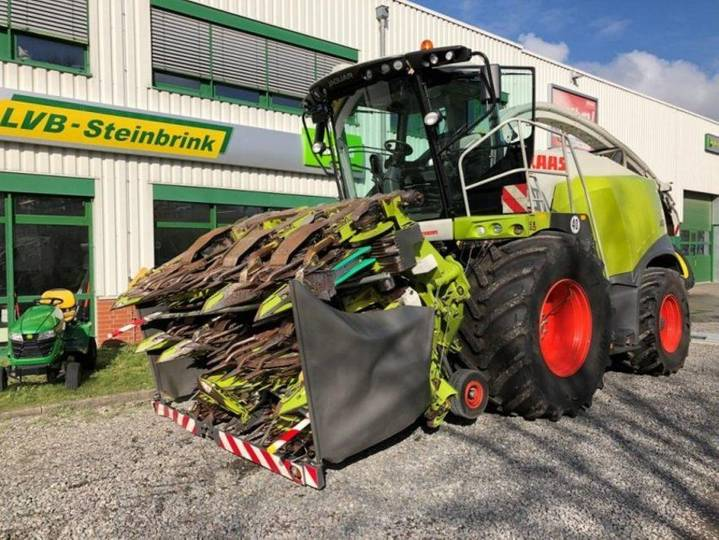Claas 960 jaguar tier 4i - 2015
