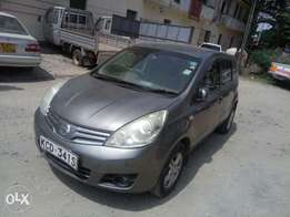 Nissan note year 2008