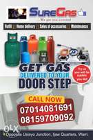 Cooking Gas home delivery