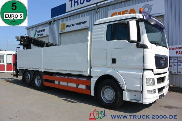 MAN Tgx 26.480 Hiab Kran 185 K 11m = 1.5 To Intarder - 2009