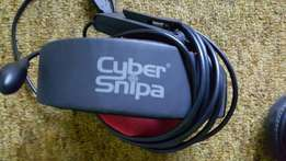Cyber Snipa 5.1 Surround gaming headset + Fang gaming pad