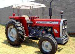 New Massey Ferguson MF 260 Tractor with 2 Disk Plough