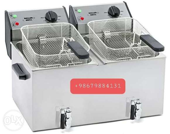 Fryer double well and single well available