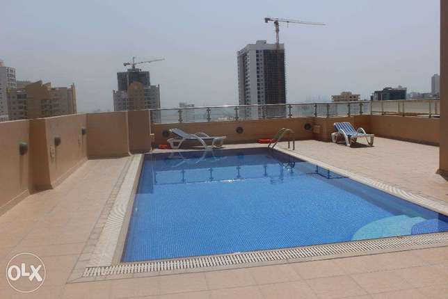 Brand new modern 2 BR in Juffer / Balcony جفير -  8