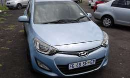 Hyundai i20 1.4 colour Blue Model 2013 5 Doors Factory A/C&MP3 CD Play