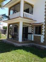 NYALI 3 bedroom fully furnished House for sale on own compound