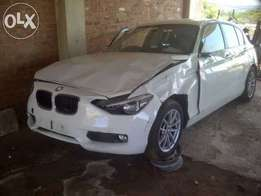 2012 BMW F20 120D AUTO stripping for spares