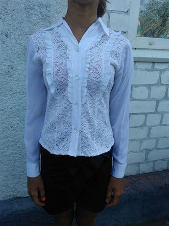 1633a221176 Блузка белая на девочку в школу  100 грн. - Одежда для девочек Днепр ...