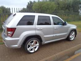 2010 Silver Jeep Grand Cherokee SRT8