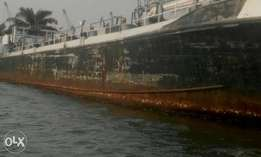 Scrap vessels for sale ,44,000mtn,at port hercourt