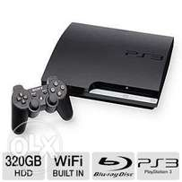 PS3 machine in excellent condition with warranty and games for 18,999
