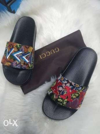 In stock with quality HERMES slippers design avalible on tunds store Lagos Mainland - image 3