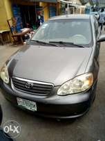 Very clean Toyota corolla 2007 model for sale