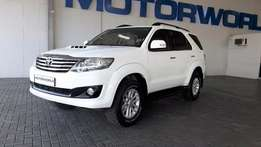 2011 Toyota Fortuner 3.0 d4-D R/B 7 Seater