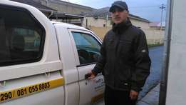 365/7 Hire Driver & Bakkie ALL CAPE TOWN AREAS & further Call Zak: 081
