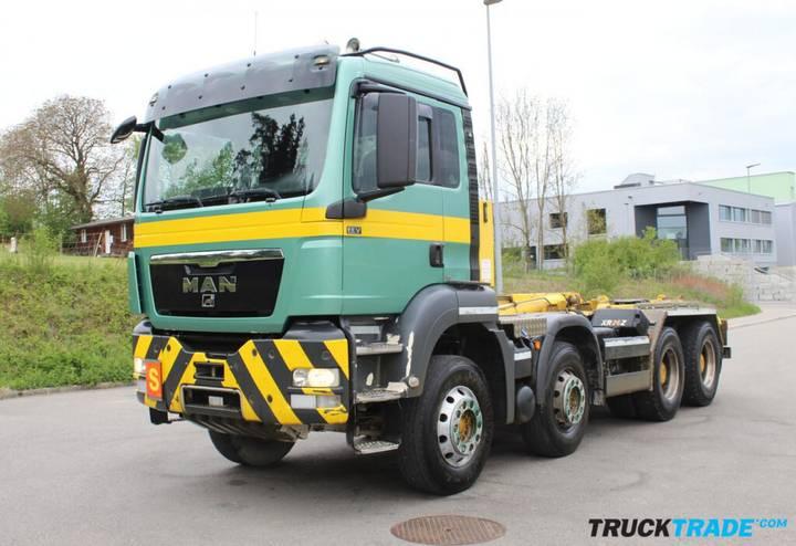 MAN TGS 35.400 8x4 - 2011