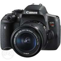 Cannon 750d (T6i) Still in very good condition.