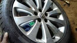 Rims for Opel Astra tyres 5 holes 17 inches,