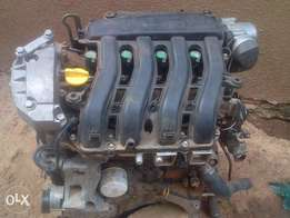 RENAULT SCENIC 2 petrol engine 1.6 litre for sale