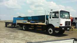 8ton truck for hire from komatipoort to anywhere around South Africa..