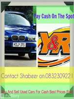 We buy Cars and Bakkies for cash cash cash