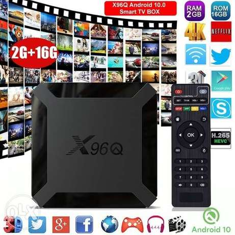 TV Box (Android TV Box) - New and Unboxed