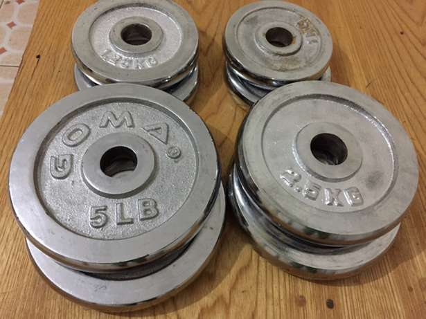Gym weights and Dumbbells for sale South C - image 2