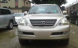 Extra Clean foreign used 2006 model Lexus GX 470 Gold