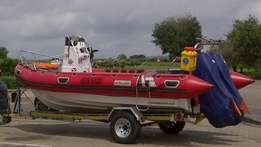 6m Buccaneer SR on galv trailer with 2x 85 Yamaha outboards for sale