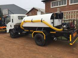 We Supply and Manufacture all size Water Tankers and Honey Suckers