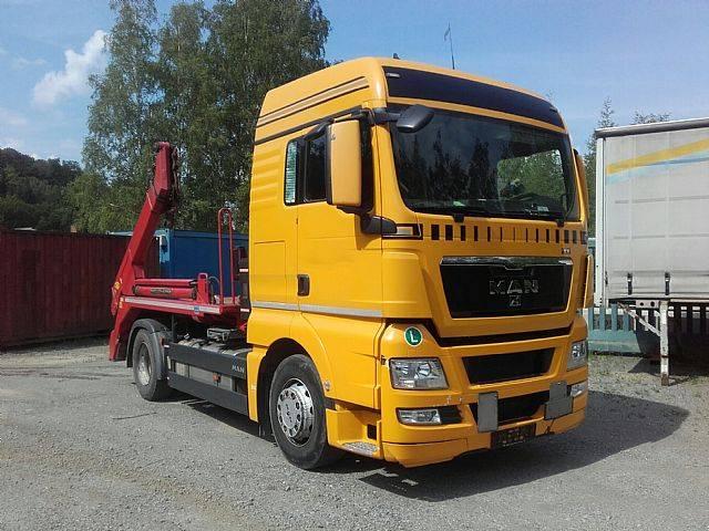 MAN 18.440 XL Meiller AK 12 T hydr. Containersicherun - 2011