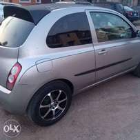 Very clean and sound Nissan Micra. First body and direct left hand drive