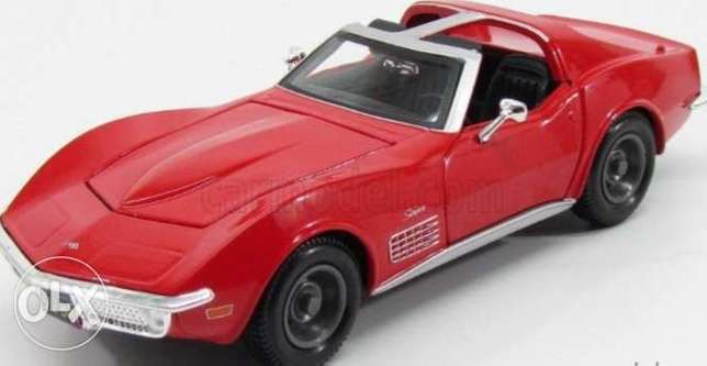 Corvette (1970) diecast car model 1:24