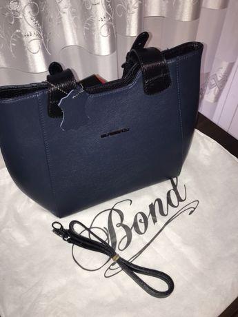 bdf6a44231cc Жіноча сумка (шкіряна) Bond non Сумка женская кожаная темно-синяя Киев -  изображение