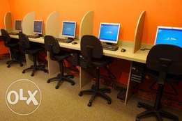 Cyber Cafe set up, office setup , IT Services and Support